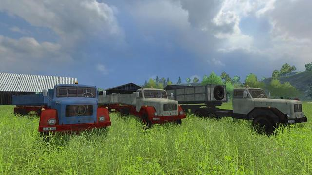 fs13 Magirus200D Transportpack UNZIP by modall Farming Simulator 2013