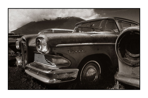 Edsel Black & White and Sepia
