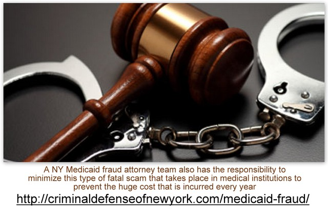 Responsibility of NY Medicaid fraud attorney Picture Box