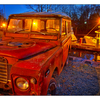 Landrover at the docks 2 - Comox Valley