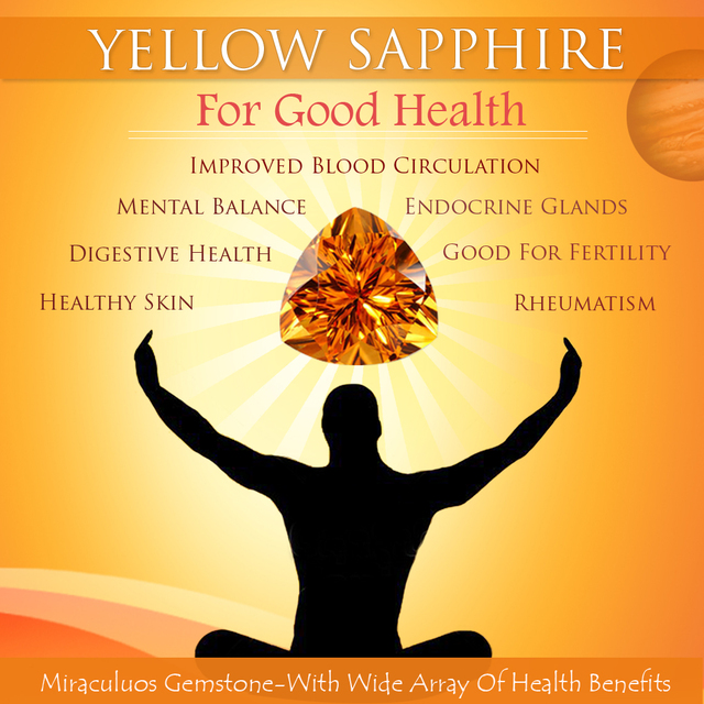 Find Health Benefits of Yellow Sapphire Online Picture Box