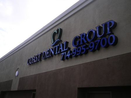 business sign installed Tustin Ca Picture Box