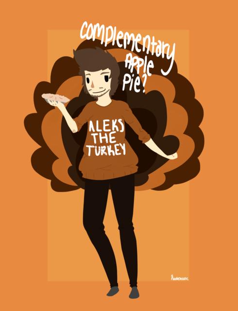 Aleks The Turkey art