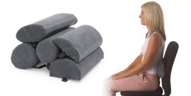 lumbar-rolls Therapeutic Pillow International