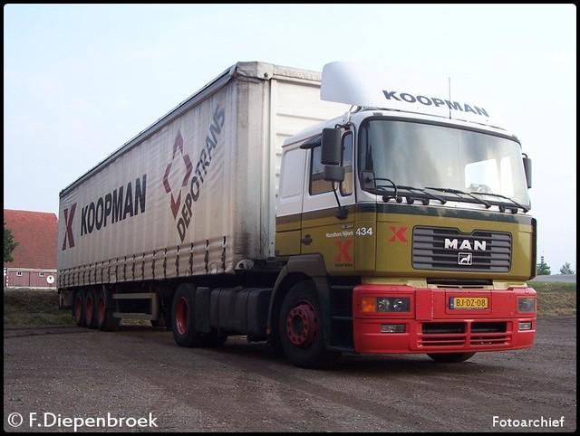 BJ-DZ-08 Man F2000 Koopman-BorderMaker oude foto's