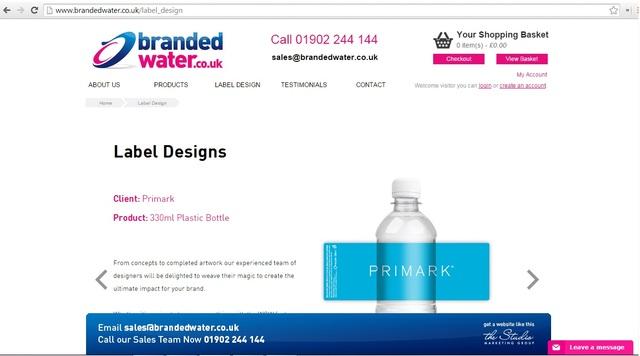 custom water label custom water label