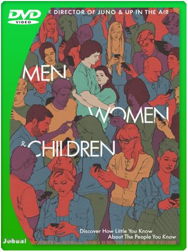 Hombres, Mujeres Y Niños (2014) DVDRip Español Latino