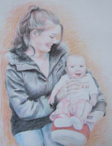 Pencil drawing Paint for life