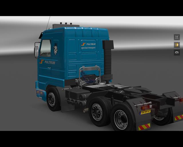 ets2 Scania 143M 420 6x2 Pultum Rijssen 3 prive skin ets2