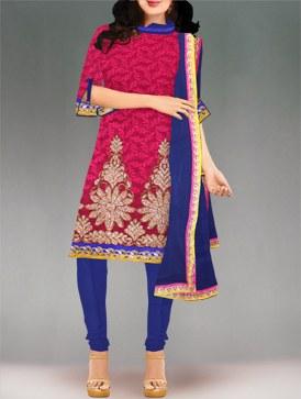 UnnatiSilks organzasilksalwarkameez onlineshopping Unnati Silks Organza Salwar kameez online shopping