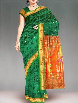 Unnati Silks Paithani silk sari online shopping Unnati Silks Paithani Silk sarees online shopping