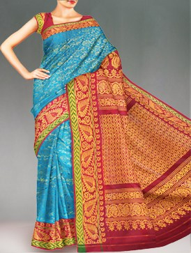 Unnati Silks gadwal silk pattu sari onlineshopping Unnati Silks Gadwal Silk sarees online shopping