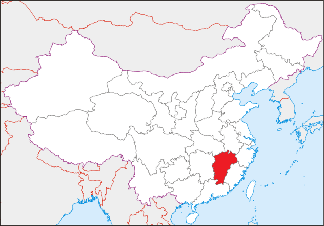 Jiangxi (江西)