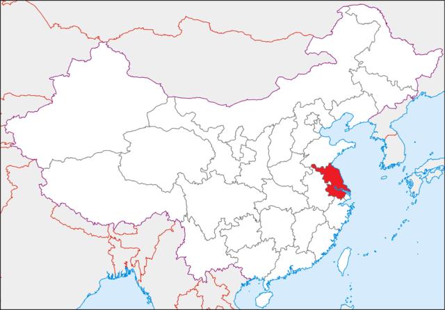 In de omgeving van Nanjing: Yangzhou (扬州), Tieshansi (铁山寺) en Qixiasi (栖霞寺)
