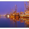 Comox Docks Fog  pano 2015 - Panorama Images