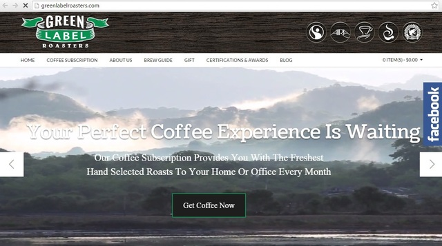 Green Label Roasters Green Label Coffee Club