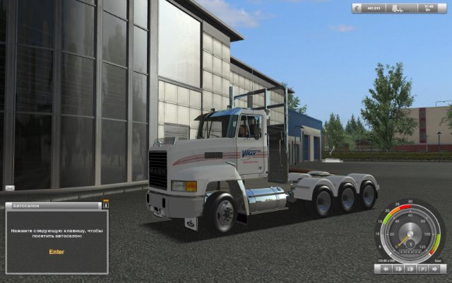 gts truck z m613dc-kv(haulin)goba6372-1.2 Mack USA Trucks for GTS