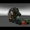 ets2 Scania R730 V8 + kraan... - prive skin ets2