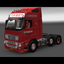 ets2 Volvo FH Classic 6x2 v... - prive skin ets2