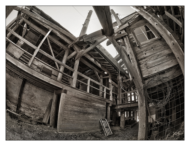 Mclean Mill 2015 9 Black & White and Sepia