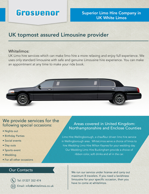 Whitelimos : Superior Limo Hire Company In UK Picture Box