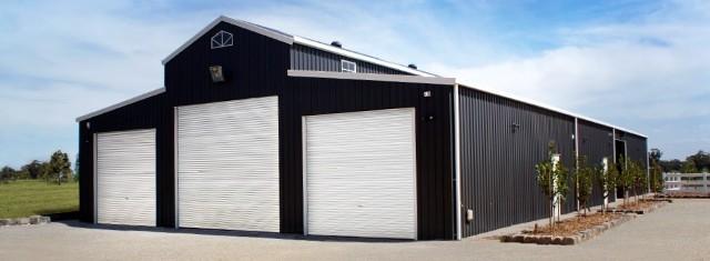 machinery shed Tru-Bilt Fabrications