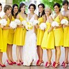 bold-bridesmaid-dresses3 ma... - Okbridalshop offers mismatc...