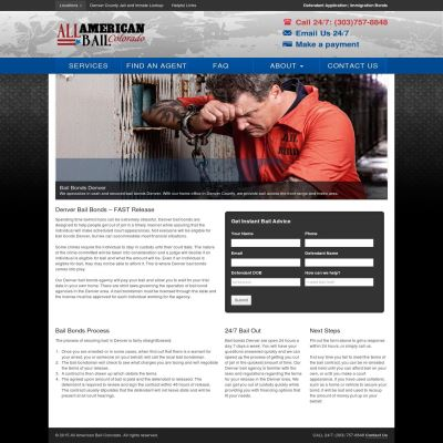 400 All American Bail Colorado-Provide Bail Bonds In Any Amount