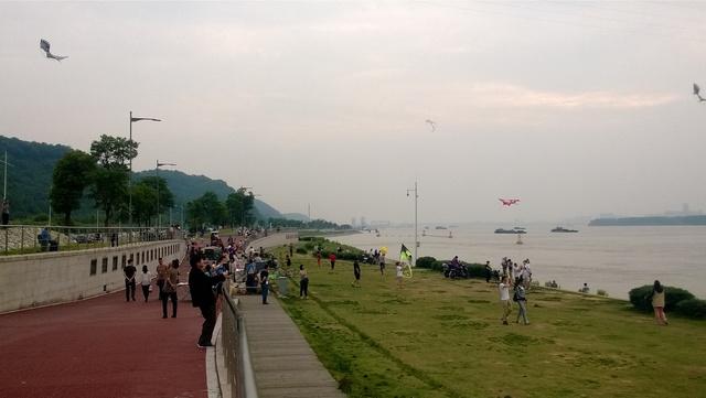 Nanjing: de Yangtze (长江)