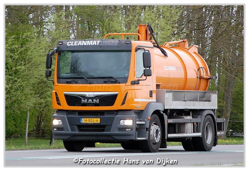 Cleanmat Trucks 14-BDL-6-BorderMaker -