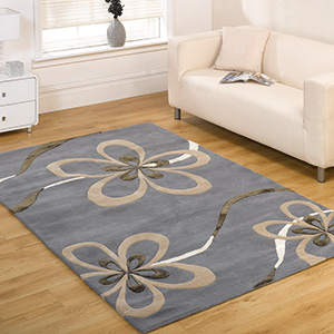 Wool Rug with Grey color Carpets