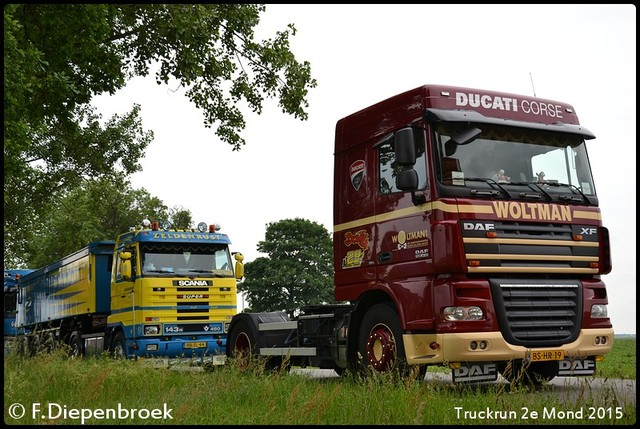 Zeldenrust en WOltman-BorderMaker Truckrun 2e Mond 2015