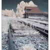 Infrared Train Station 02 - Infrared photography