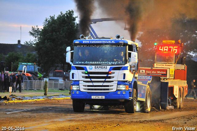 20-06-2015 truckrun en renswoude 1301-BorderMaker 20-06-2015 Renswoude Totaal