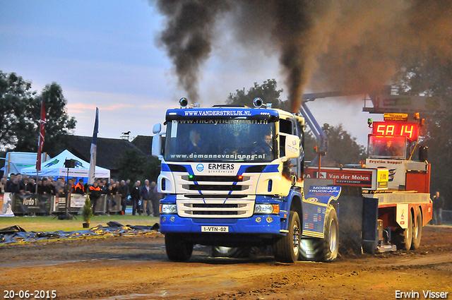 20-06-2015 truckrun en renswoude 1302-BorderMaker 20-06-2015 Renswoude Totaal
