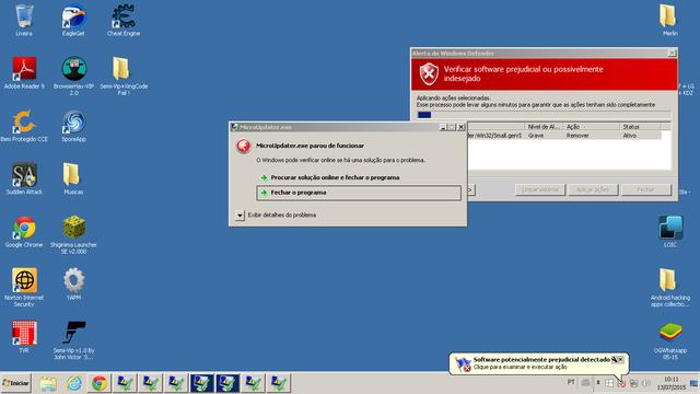 hacker com virus Picture Box