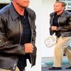 ARNOLD SCHWARZENEGGER CALIF... - Samish Leather Jackets