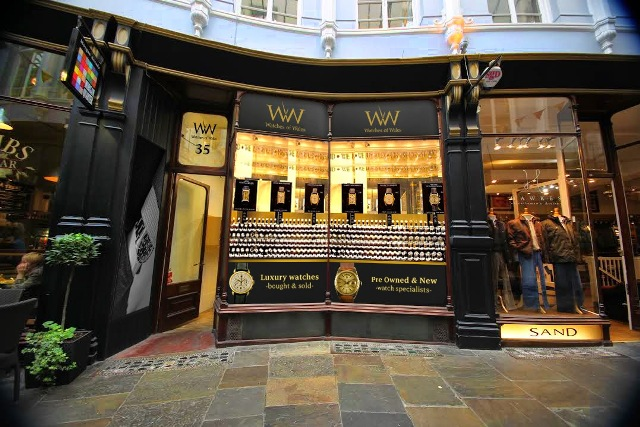 jewellers cardiff Watches of Wales