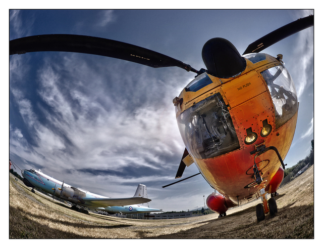 Copter fisheye 01 Aviation