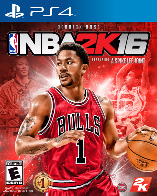 Rose2K16PS4Cover NBA