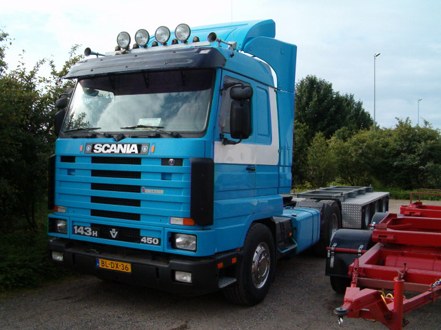 Scania 143 450 kermis Picture Box