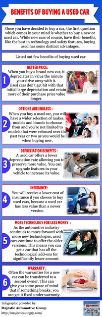 Benefits of Buying a Used Car Benefits of Buying a Used Car