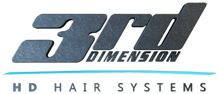 Logo 3rd Dimension Studios HD Hair Systems