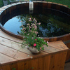 Round Hot Tubs by Northern ... -  Northern Lights Cedar Tubs