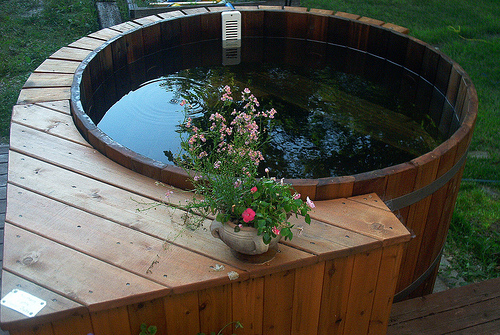 Round Hot Tubs by Northern Lights Cedar Tubs  Northern Lights Cedar Tubs