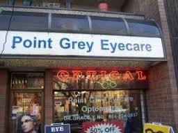 eye glasses Point Grey Eyecare