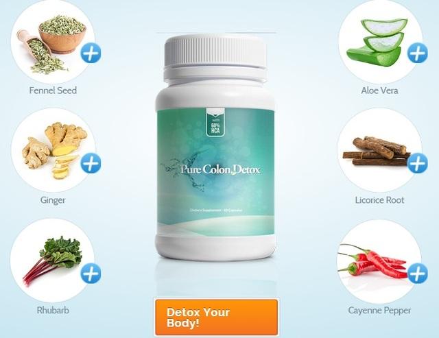 detox pills Pure Colon Detox UK