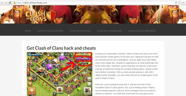 clash of clans hack tool clash of clans cheats