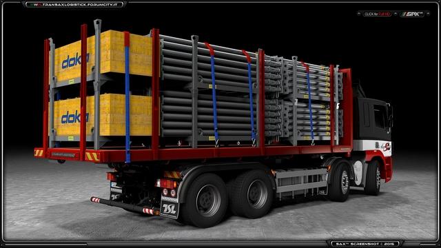 DAF CF + Multilift + Platform 6 TSL™ DAF CF + Multilift