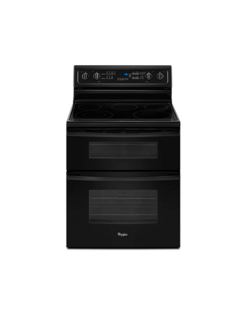 Rent to Own Whirlpool Double Oven Electric Range Rent to Own Appliances
